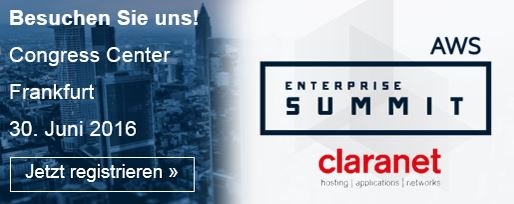 AWS Enterprise Summit Gold Sponsor
