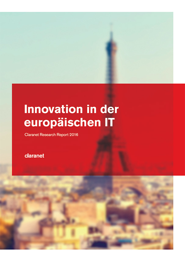 Innovation in der europäischen IT. Claranet Research Report 2016