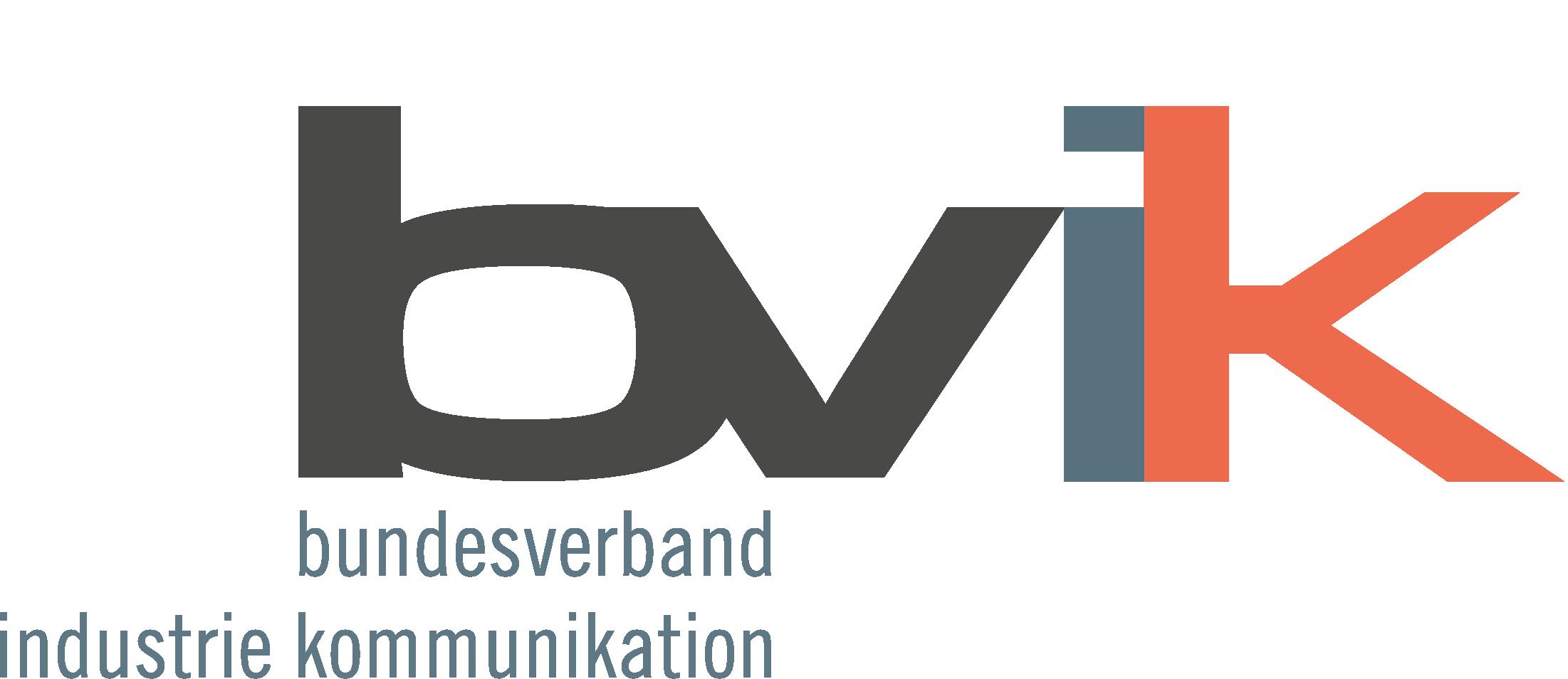 Bundesverband Industrie Kommunikation e.V. (bvik) Logo