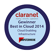 Best in Cloud Award 2014