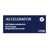Crisp Research - Managed Public Cloud Accelerator Logo 2018