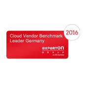 Experton Cloud Vendor Benchmark 2016, Leader