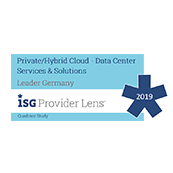 Positionierung in der ISG Provider Lens 2019 - Managed Container as a Service