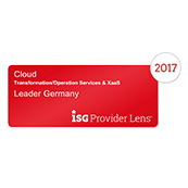 ISG Vendor Benchmark 2017, Leader
