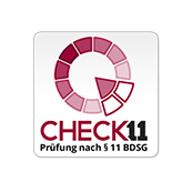 BDSG auditiert nach CHECK 11