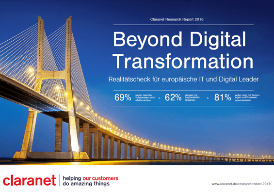 Claranet Research Report: Beyond Digital Transformation