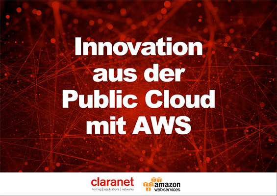 eBook: Innovation aus der Public Cloud mit AWS