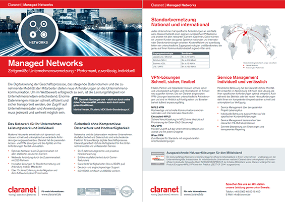 Claranet Managed Networks