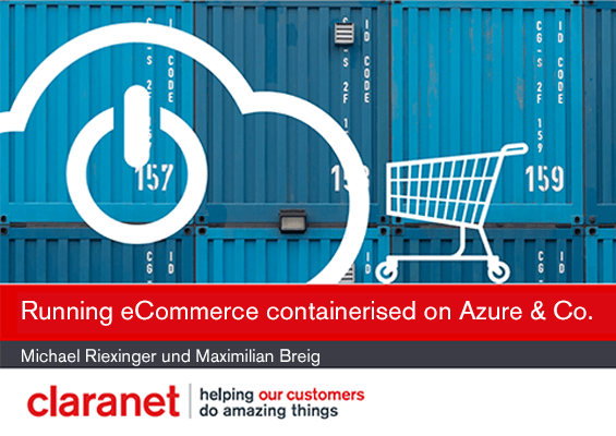 Webinar: Running eCommerce containerised on Microsoft Azure & Co.