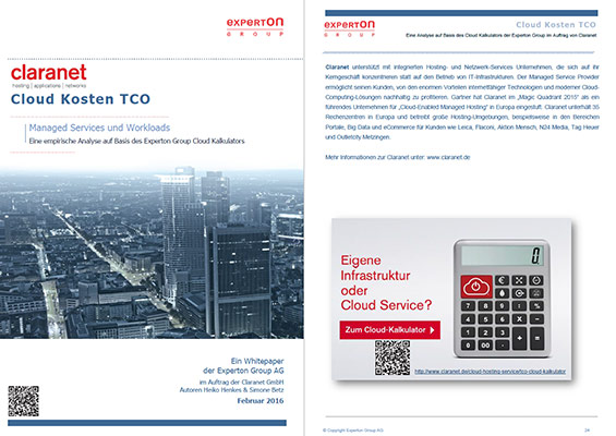 Whitepaper: Analyse der Cloud-Kosten TCO