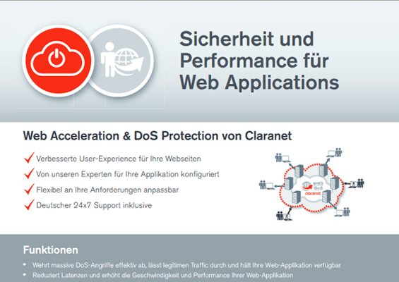 Web Acceleration & DoS Protection
