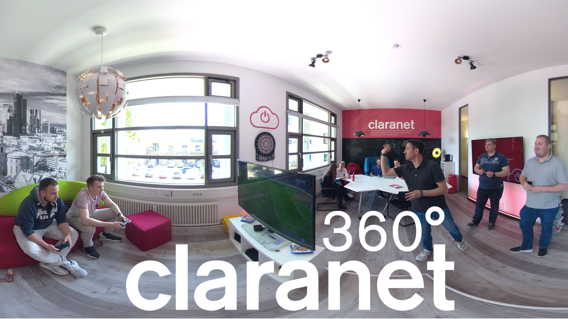 Vorschaubild Claranet 360° Video